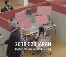 G20 Japan Digital web movie 2019 / データ×職場