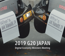 G20 Japan Digital web movie 2019 / データ×法