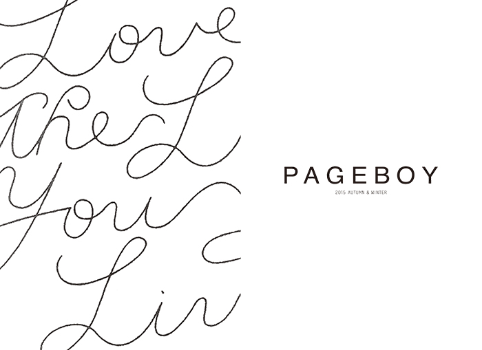 PAGEBOY 2015 AUTUMN catarogue